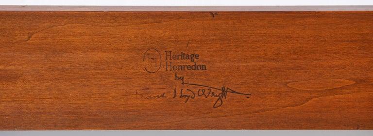 Headboard by Frank Lloyd Wright For Sale 1