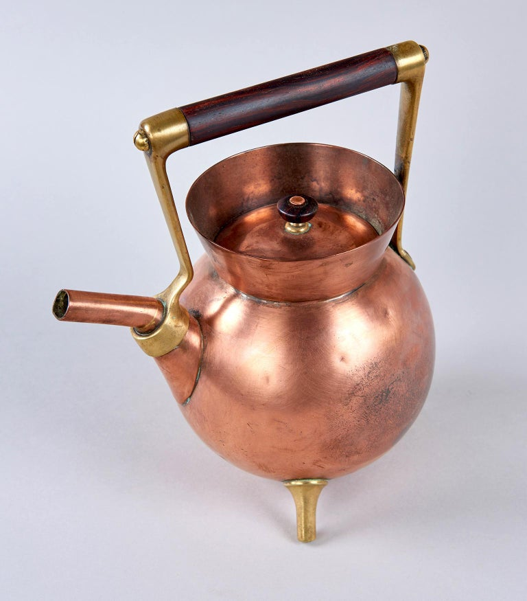 Tea Kettle by Dr. Christopher Dresser In Good Condition For Sale In Los Angeles, CA