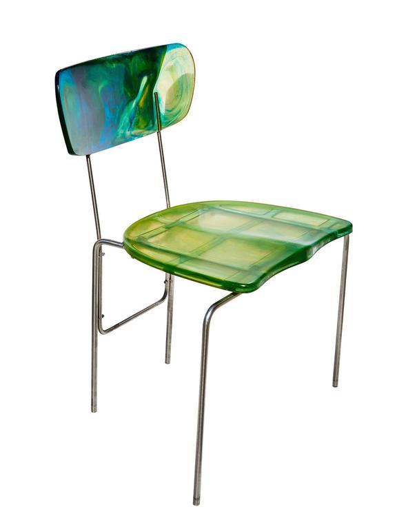 "Two ""Broadway"" Chairs by Gaetano Pesce 2"