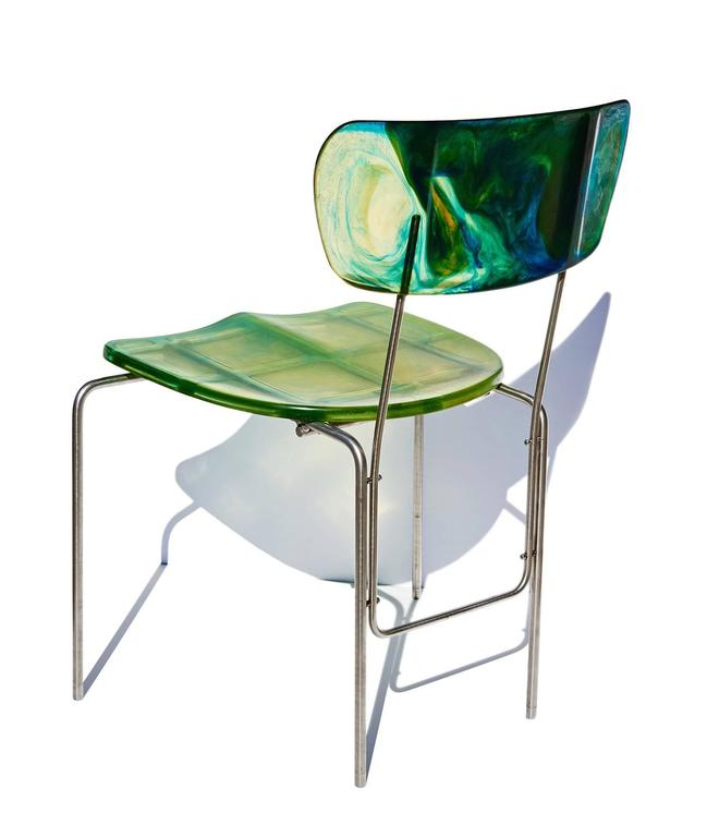 "Two ""Broadway"" Chairs by Gaetano Pesce 4"