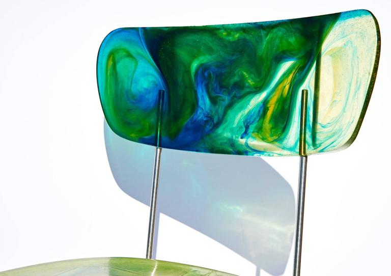 "Two ""Broadway"" Chairs by Gaetano Pesce 6"