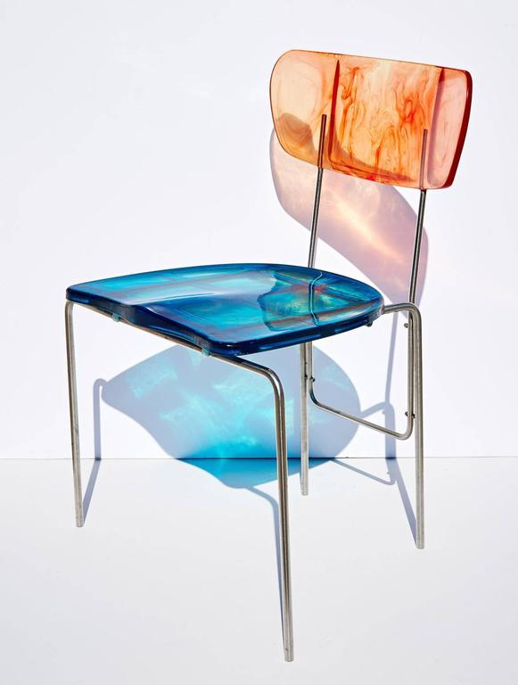 "Two ""Broadway"" Chairs by Gaetano Pesce 3"