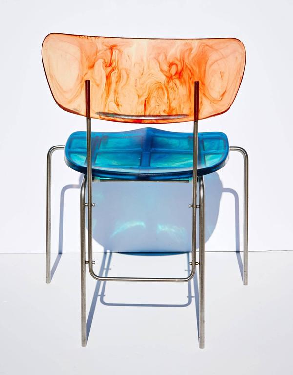 "Two ""Broadway"" Chairs by Gaetano Pesce 5"