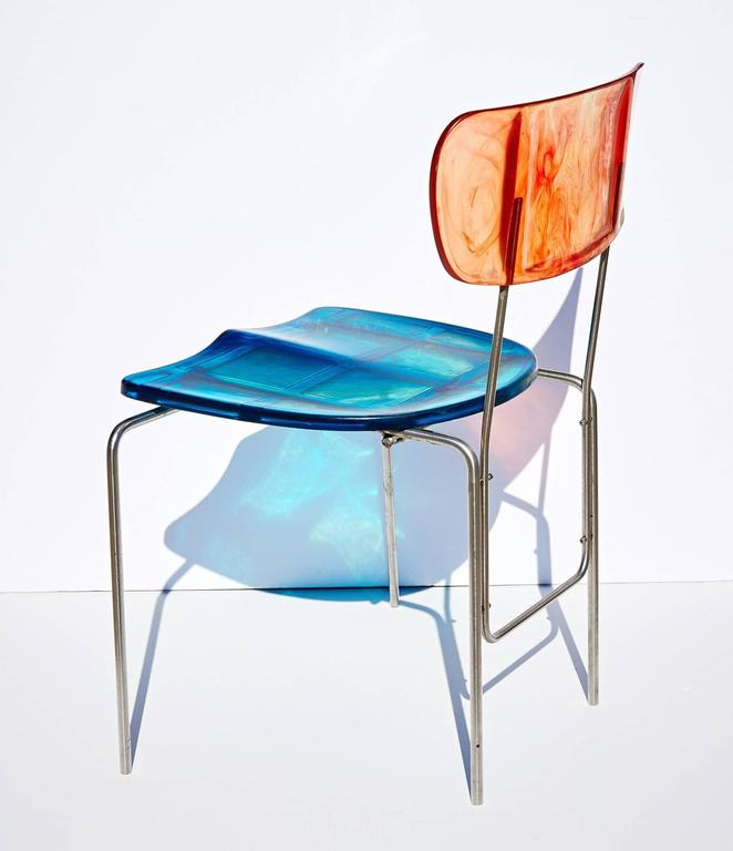 "Two ""Broadway"" Chairs by Gaetano Pesce 9"