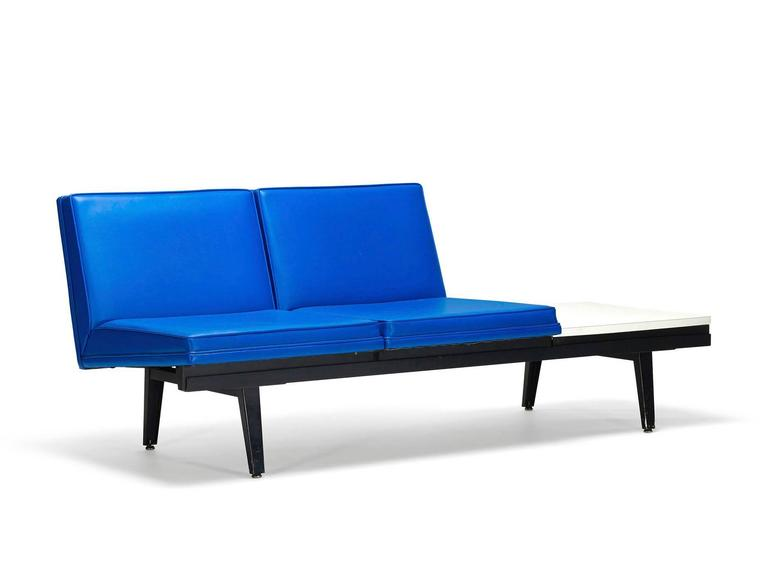 """""""Steel Frame"""" Sofa by George Nelson In Good Condition For Sale In Los Angeles, CA"""