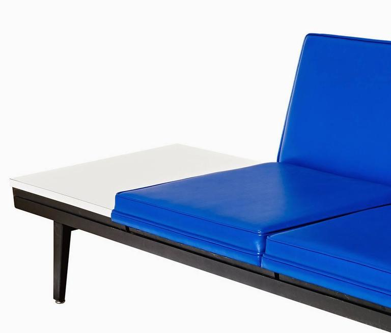 """Enameled """"Steel Frame"""" Sofa by George Nelson For Sale"""