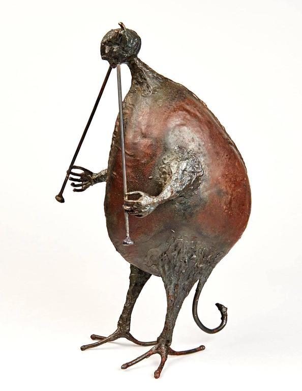 """Pan"" Sculpture by Michel Anasse 2"
