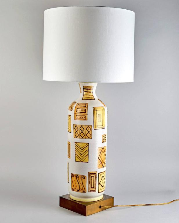Modern Table Lamp by Guido Gambone For Sale