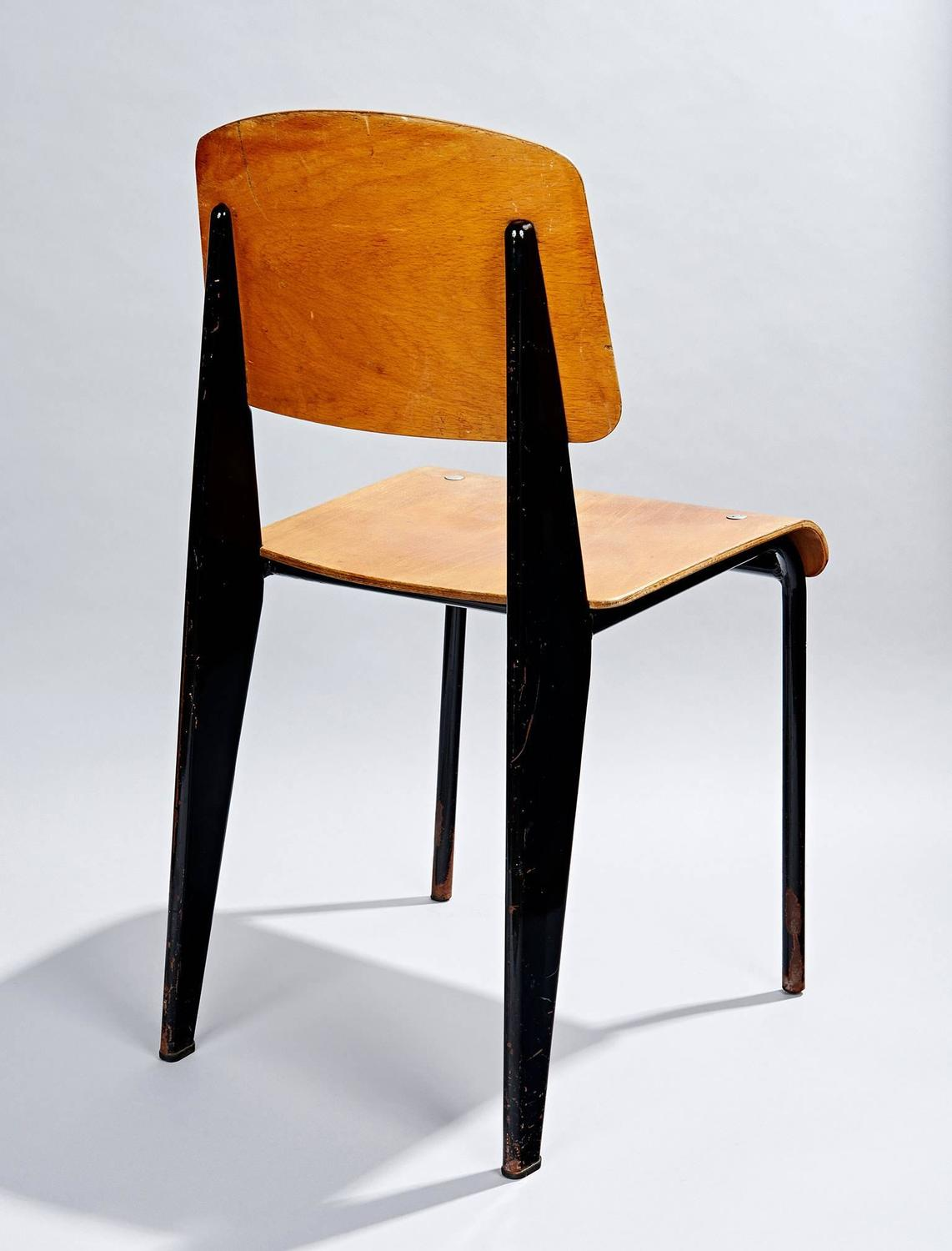 Chaise standard by jean prouv at 1stdibs - Chaise de jean prouve ...