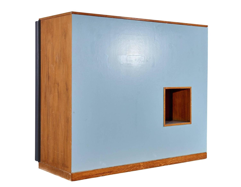 maison du br sil wardrobe room divider by le corbusier for sale at 1stdibs. Black Bedroom Furniture Sets. Home Design Ideas