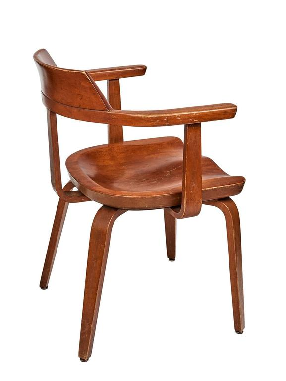 Mid-20th Century Set of Eight Dining Chairs by Walter Gropius For Sale