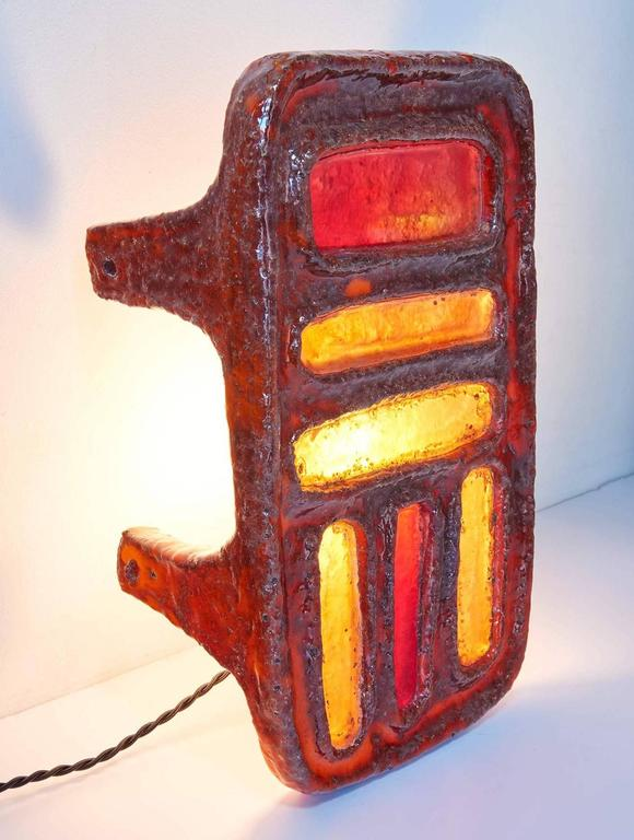 French Lamp/Sculpture by Juliette Derel For Sale