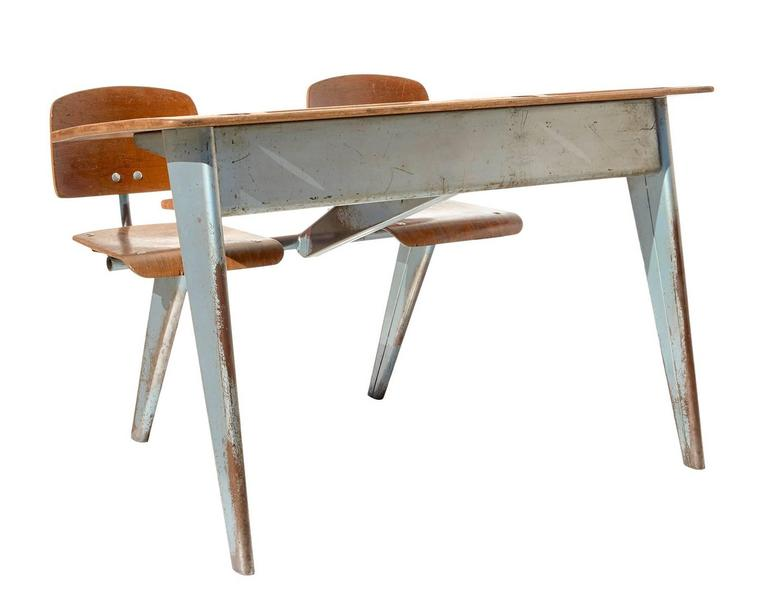 1946 Students' Desk by Jean Prouvé 2