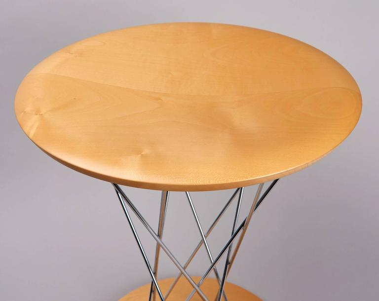 From the Vitra edition of Isamu Noguchi's 1954 design, which has been out of production for many years. The Rocking Stools are fun to sit on, at once ergonomic and playful. Their convex bases allow the stools to rock gently in all directions.