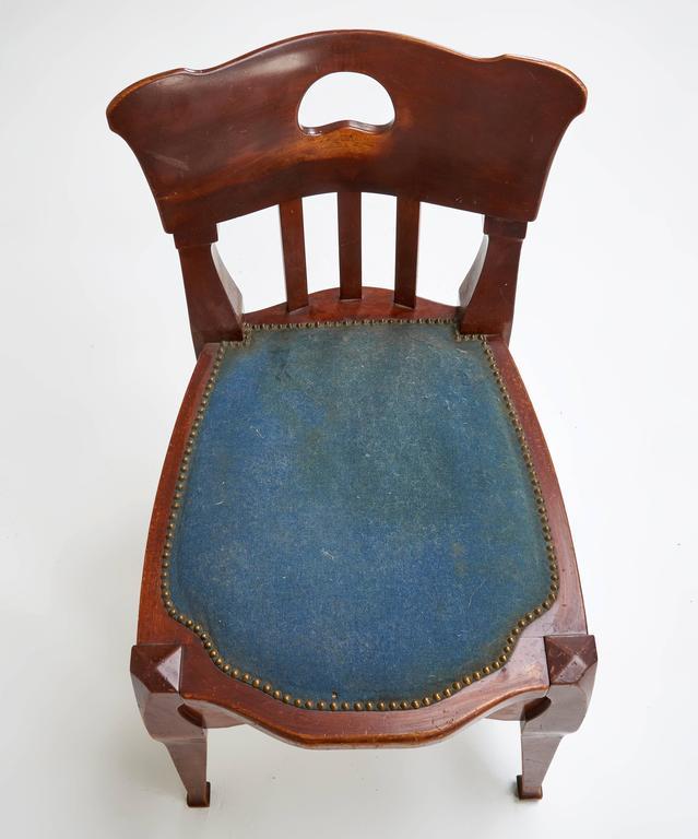 German Jugendstil Chair by Richard Riemerschmid For Sale