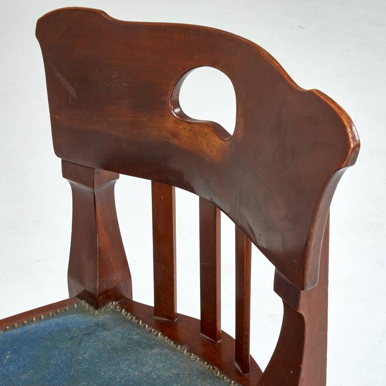 Jugendstil Chair by Richard Riemerschmid In Excellent Condition For Sale In Los Angeles, CA