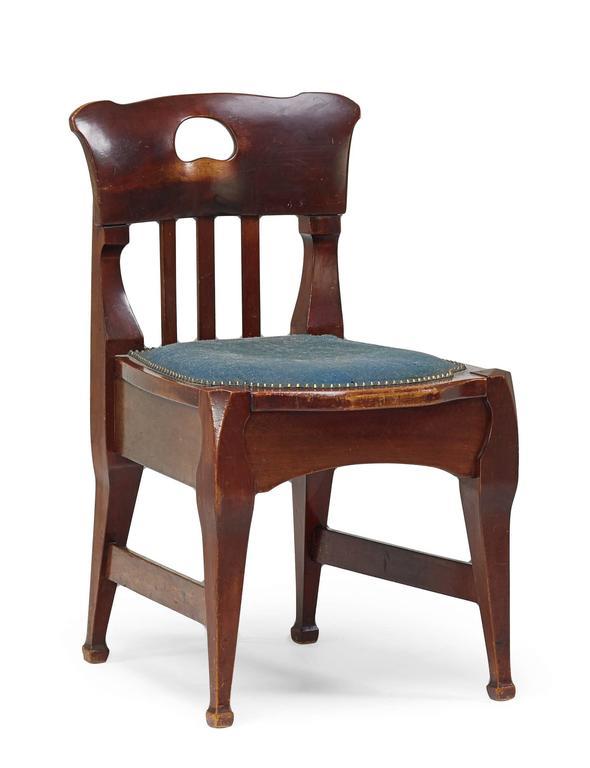 Jugendstil Chair by Richard Riemerschmid For Sale 1