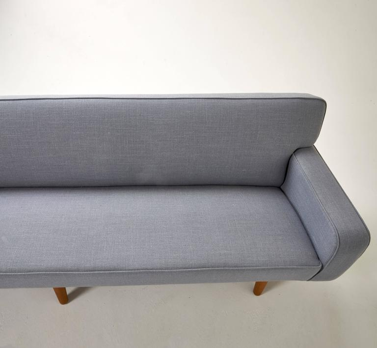Long sofa by hans wegner for sale at 1stdibs for Long couches for sale
