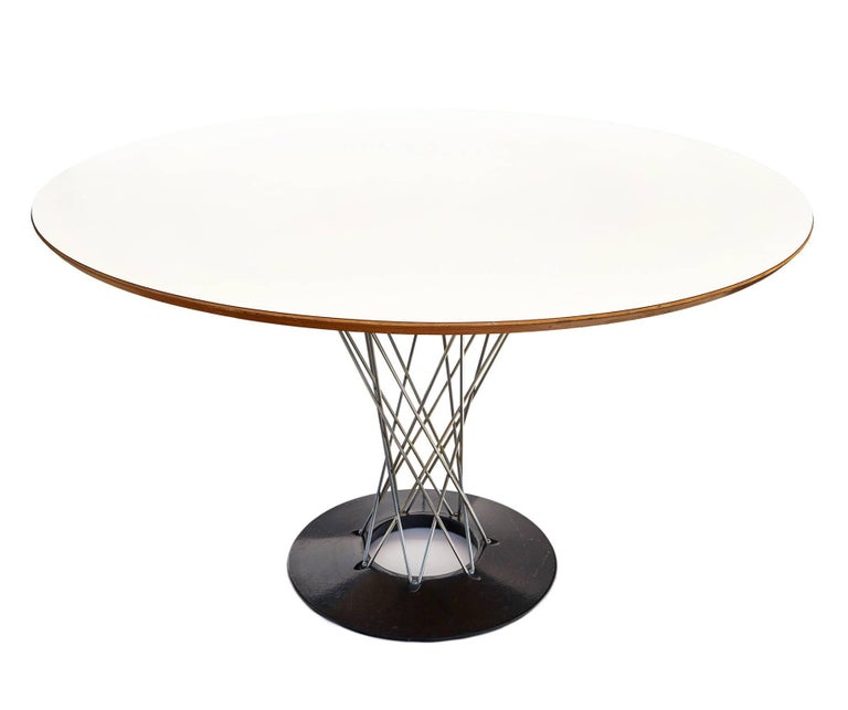 """Early 1960s """"Cyclone"""" Dining Table by Isamu Noguchi 2"""