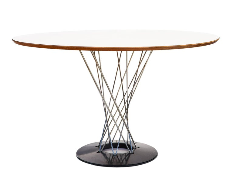"""Early 1960s """"Cyclone"""" Dining Table by Isamu Noguchi 5"""