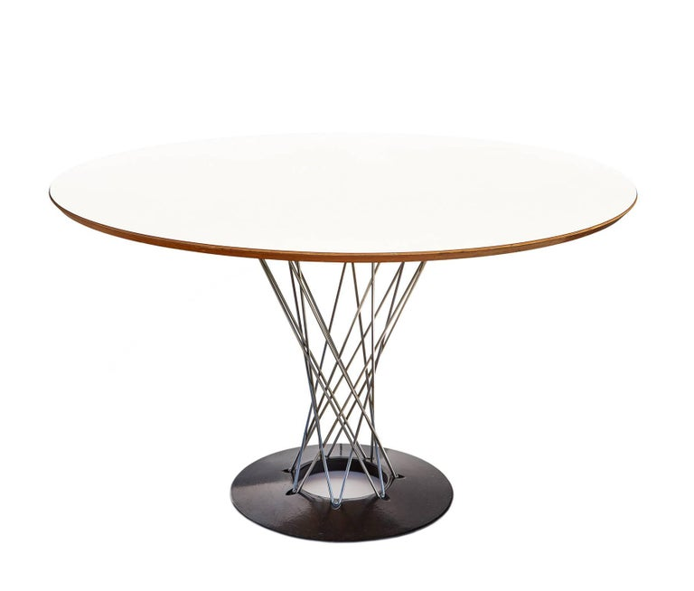 """Early 1960s """"Cyclone"""" Dining Table by Isamu Noguchi 6"""