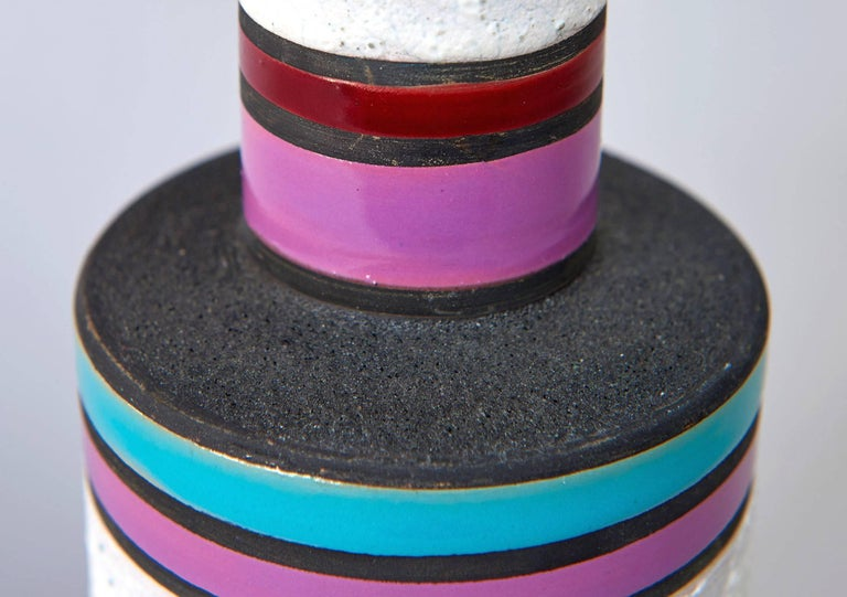 """""""Rochetto"""" Vase by Ettore Sottsass For Sale 2"""