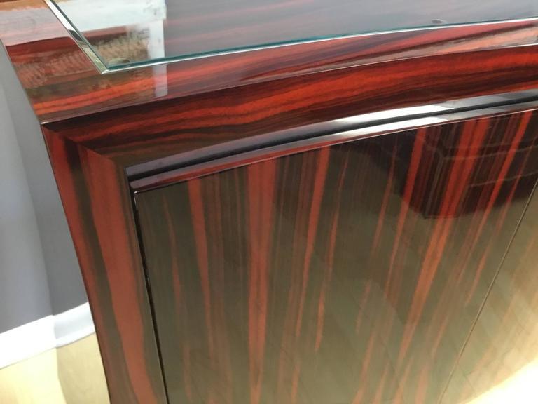 Ted Sherman Maccasar Wood Sideboard 2
