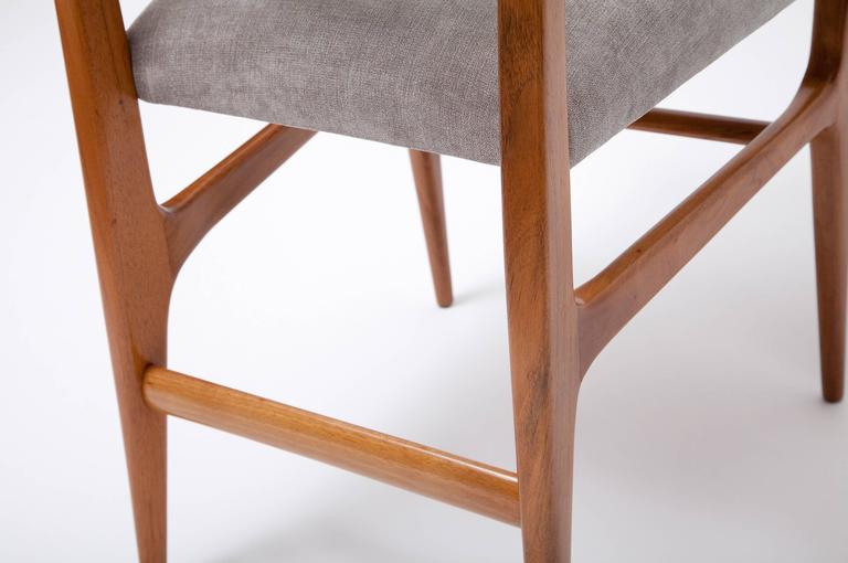 Set of Four Dining Chairs by Gio Ponti for Singer & Sons For Sale 2