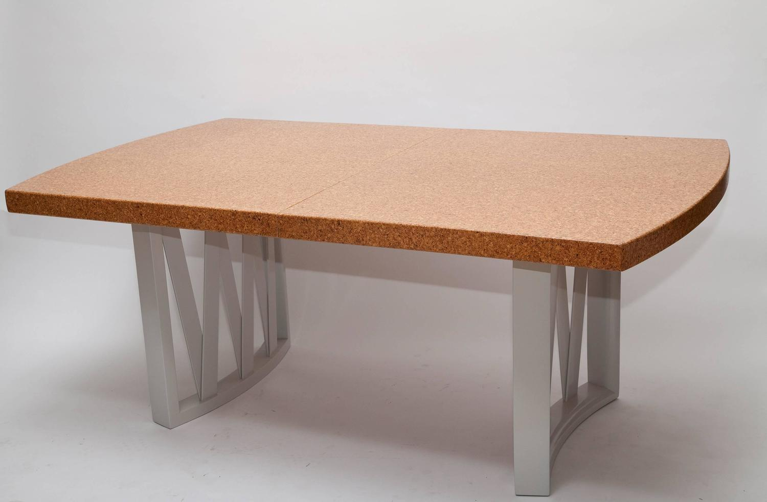 Cork Top Dining Table By Paul Frankl For Sale At 1stdibs