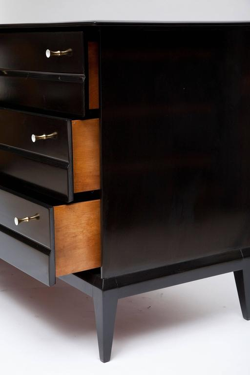 Ebonized Walnut Dresser By Heywood Wakefield At 1stdibs