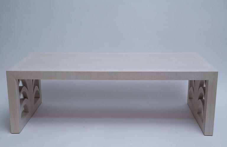 Bleached Mahogany Coffee Table by T. H. Robsjohn-Gibbings 2