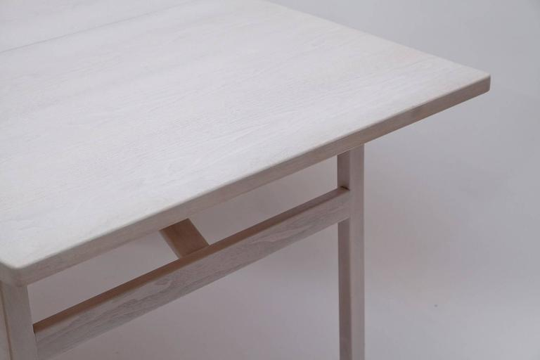 Jens Risom Bleached Walnut Dining Table For Sale 2
