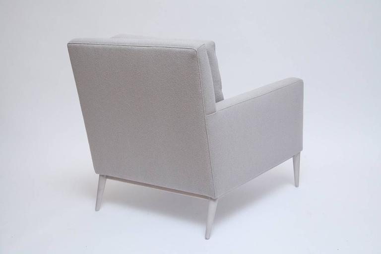 American Pair of Fully Restored Paul McCobb Bleached Walnut Lounge Chairs for Directional For Sale