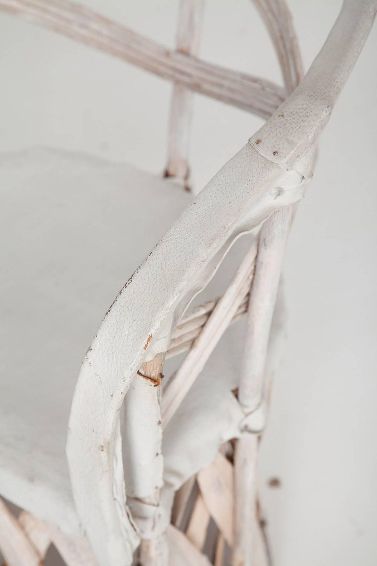 Whitewashed Equipale Chairs 7