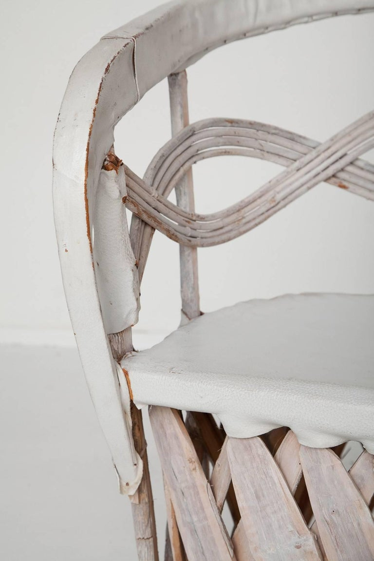 Whitewashed Equipale Chairs 6