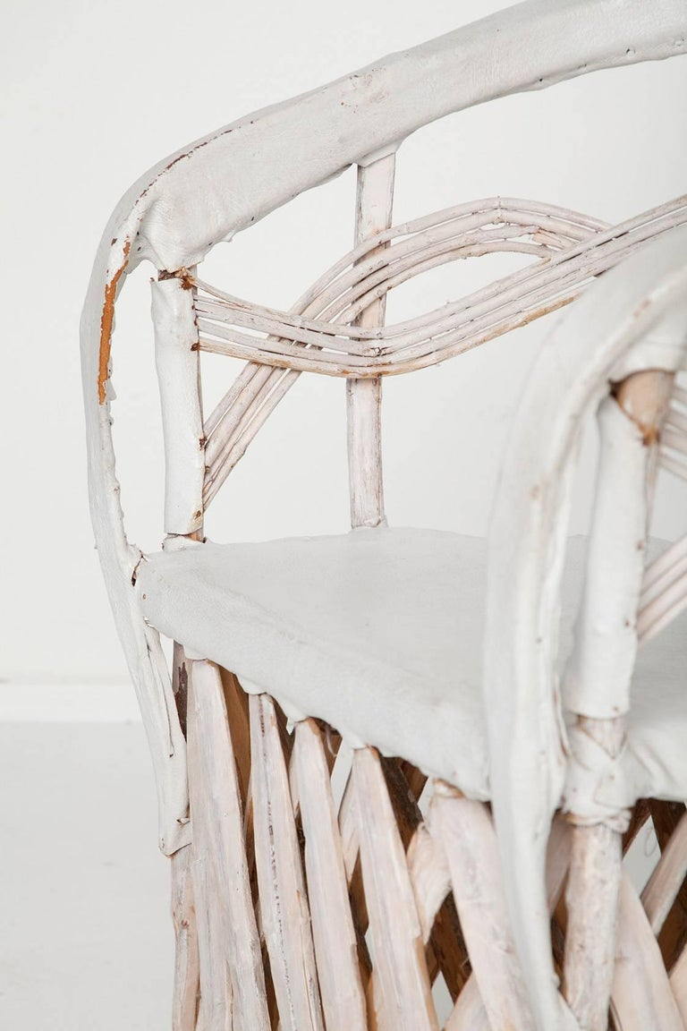 Whitewashed Equipale Chairs 5