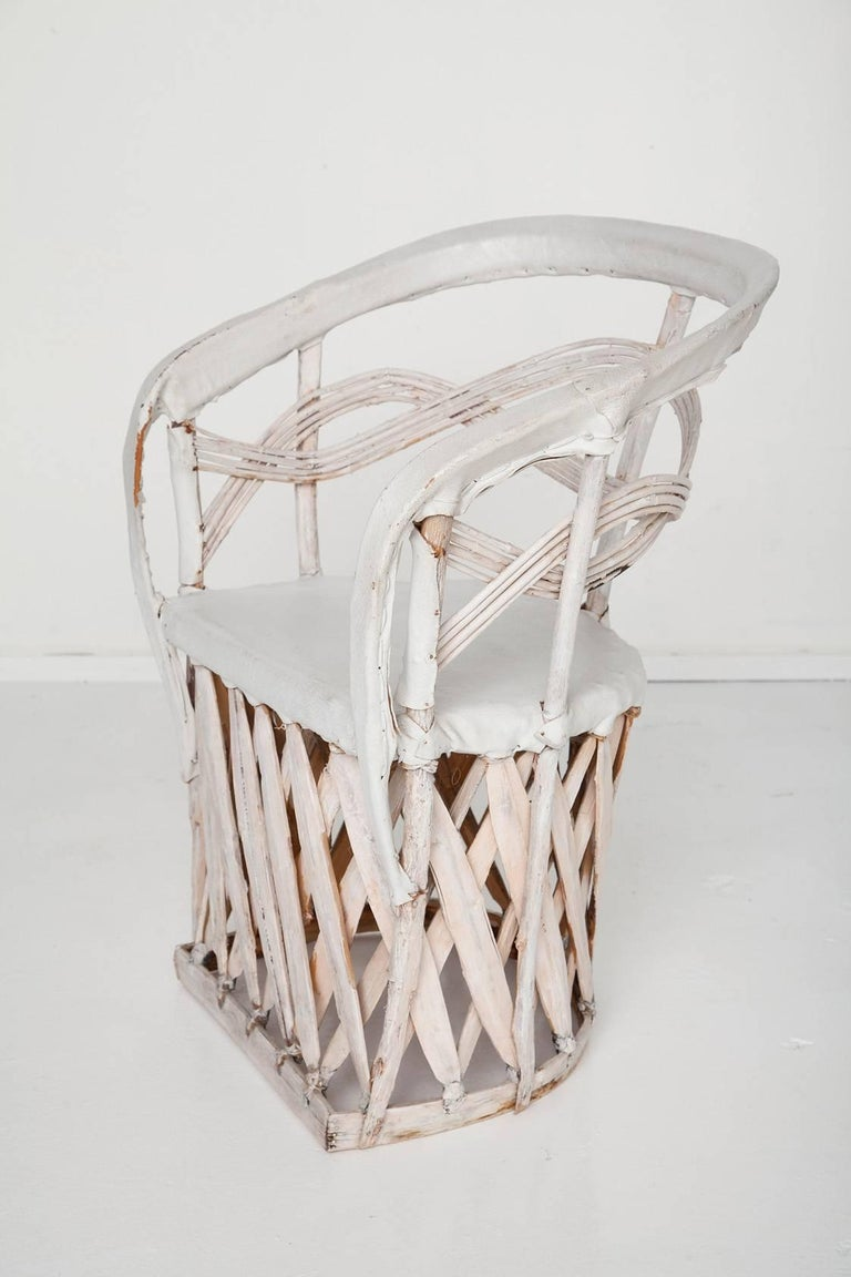 Whitewashed Equipale Chairs 4