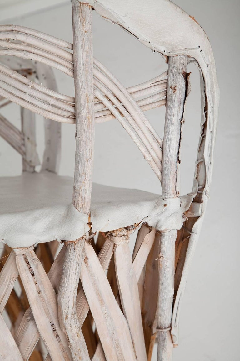 Whitewashed Equipale Chairs 8