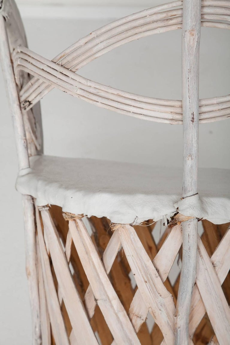 Whitewashed Equipale Chairs 9