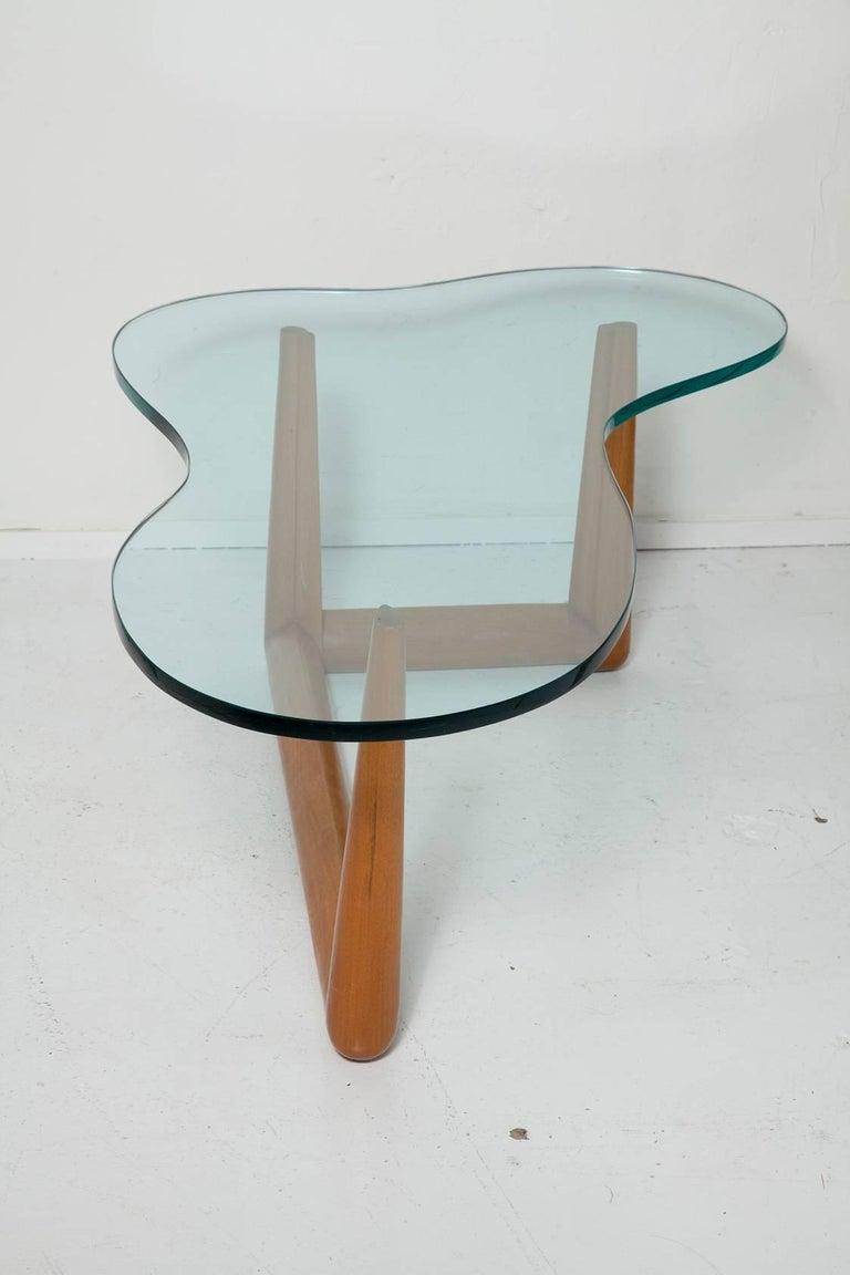 Mid-Century Modern Biomorphic Coffee Table by T. H. Robsjohn-Gibbings, circa 1955 For Sale