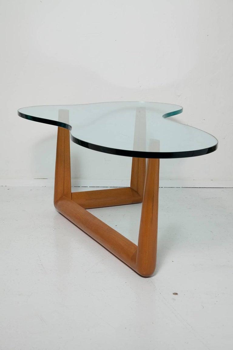 American Biomorphic Coffee Table by T. H. Robsjohn-Gibbings, circa 1955 For Sale