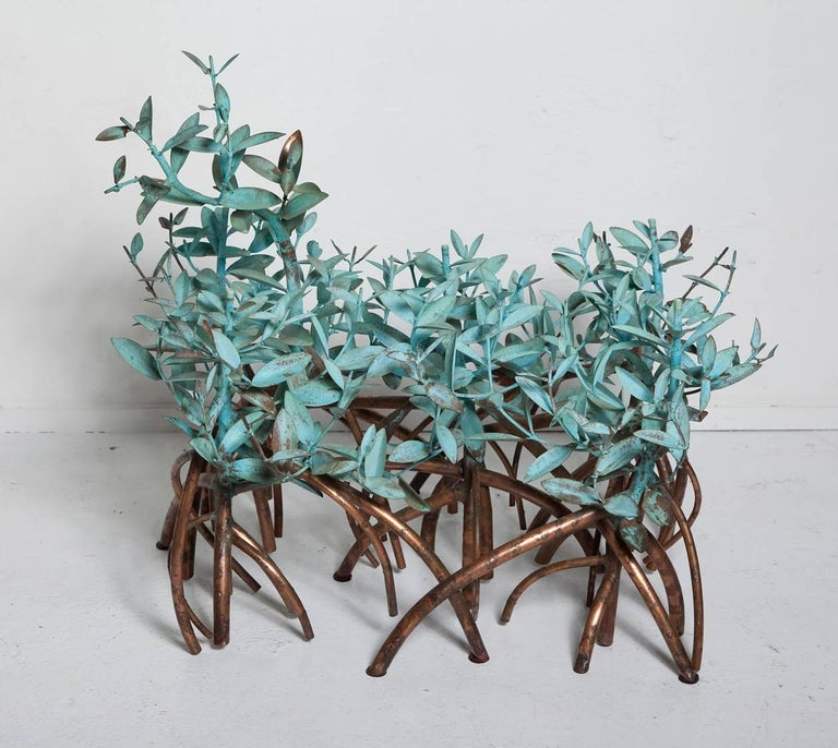 Copper Mangrove Coffee Table by Garland Faulkner For Sale 3