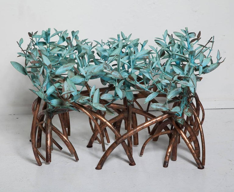 Copper Mangrove Coffee Table by Garland Faulkner For Sale 4