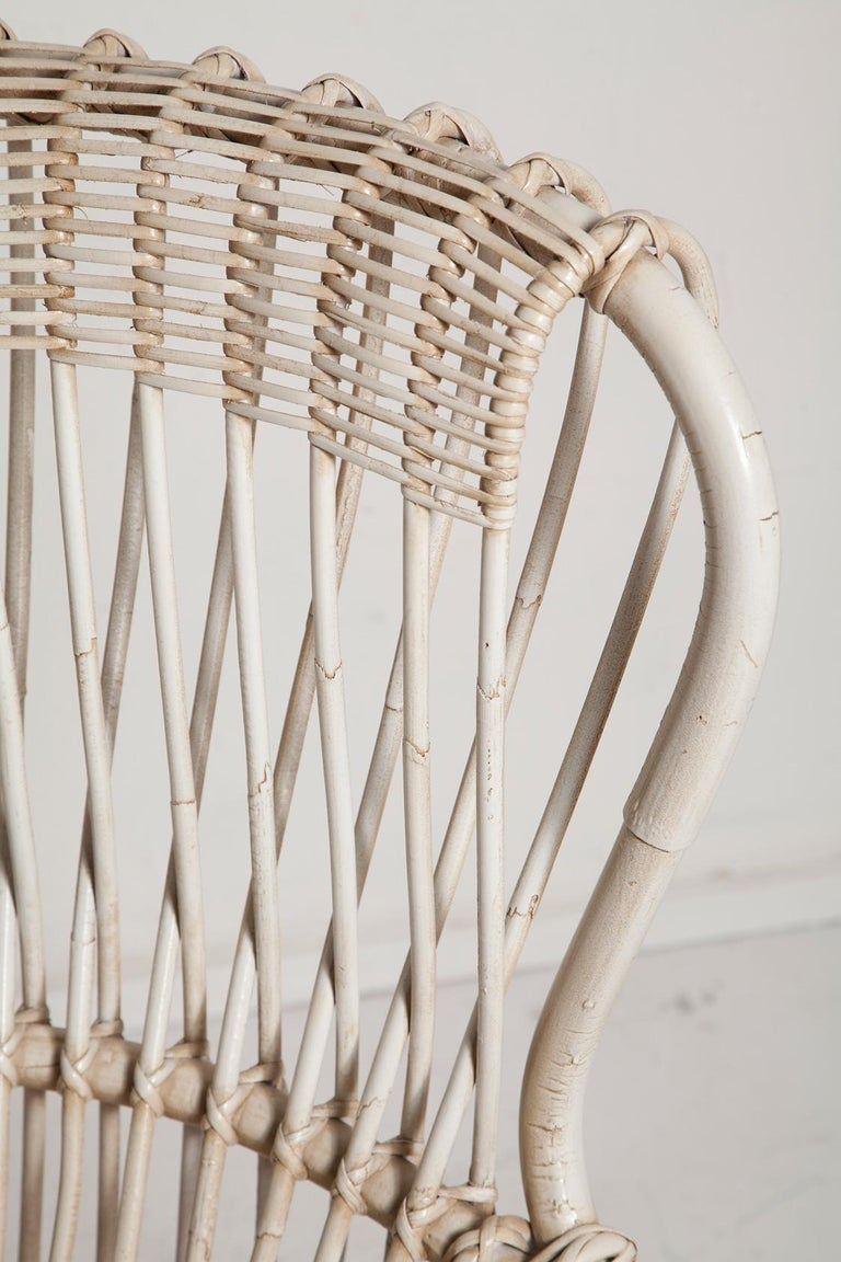 Restored Pair of 1950s Margherita Chairs by Franco Albini for Vittorio Bonacino For Sale 1