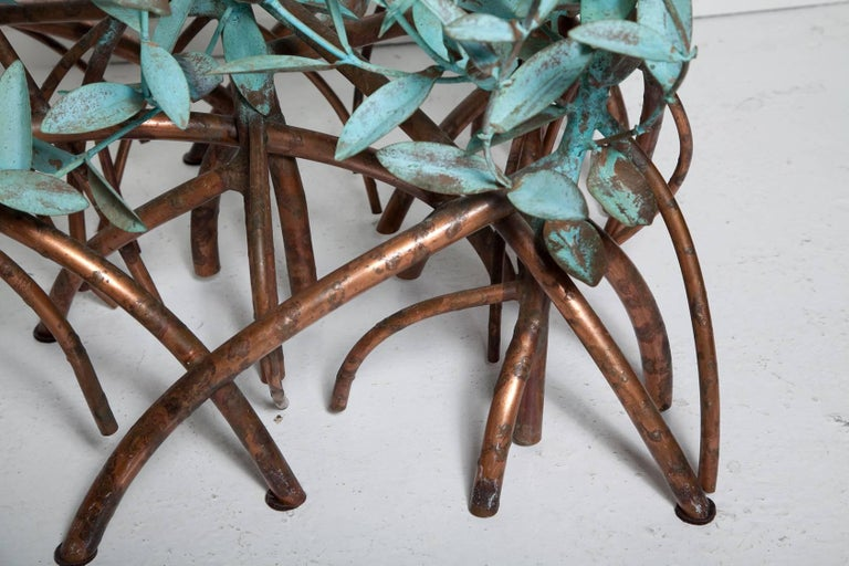 Copper Mangrove Coffee Table by Garland Faulkner For Sale 8