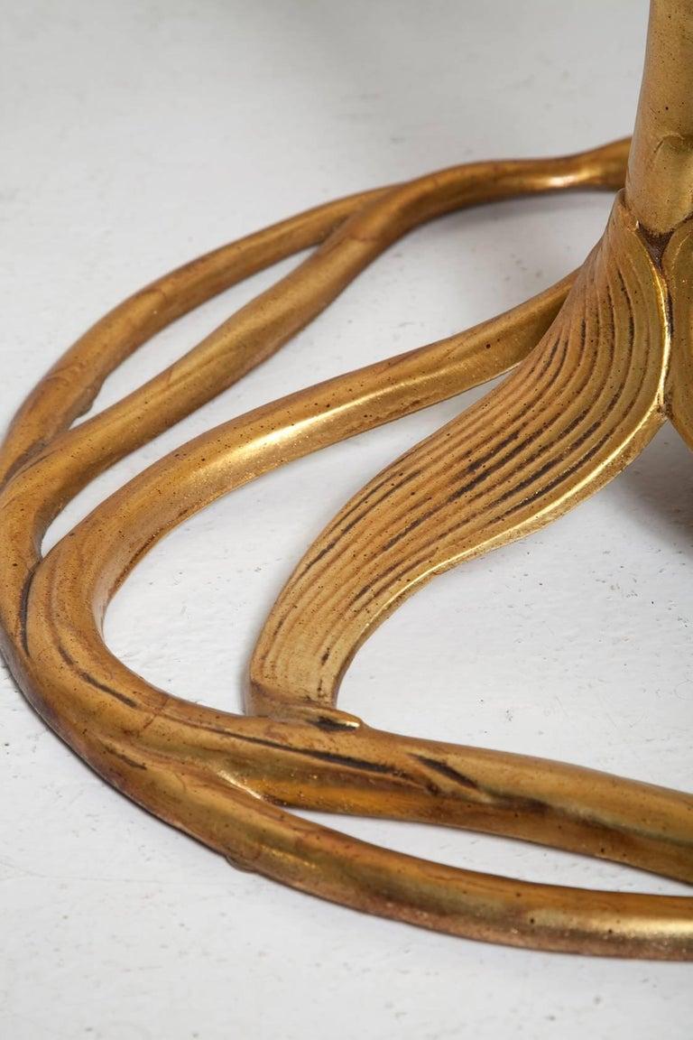 1960s Patinated Gold Arthur Court Cast Aluminium
