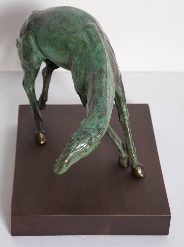Signed Equine Bronze by Gary Weisman In Excellent Condition For Sale In North Miami, FL