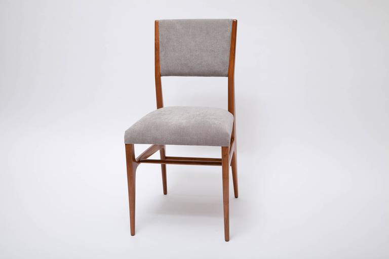 Italian Set of Four Dining Chairs by Gio Ponti for Singer & Sons For Sale