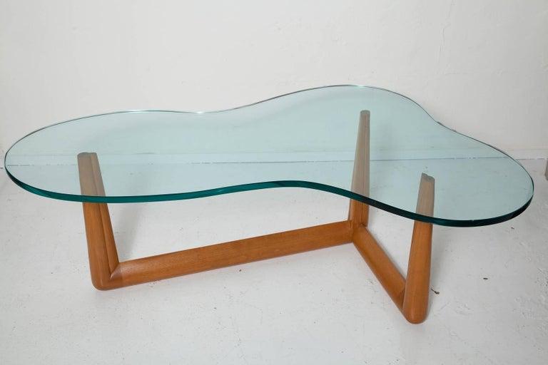 Biomorphic Coffee Table by T. H. Robsjohn-Gibbings, circa 1955 For Sale 2