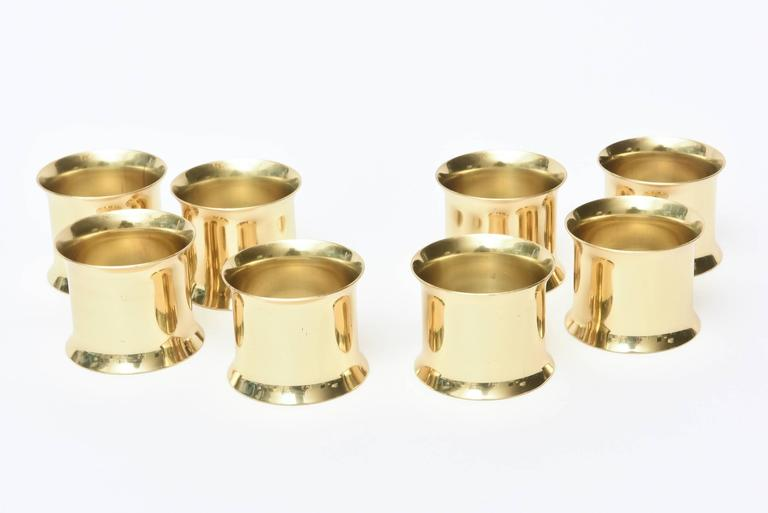 Set of Eight Vintage Brass Cuff Napkin Rings at 1stdibs : napkinrings02l from www.1stdibs.com size 768 x 513 jpeg 22kB